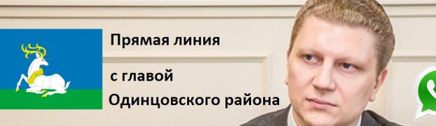 Прямая линия с главой Одинцовского района