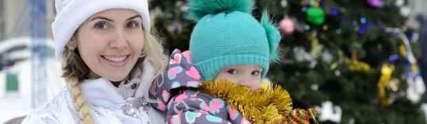Детский новогодний праздник в Немчиновке